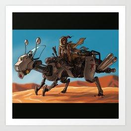 Desert Dweller Art Print