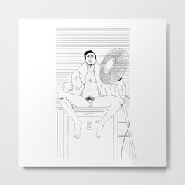 Maudeloc Metal Print