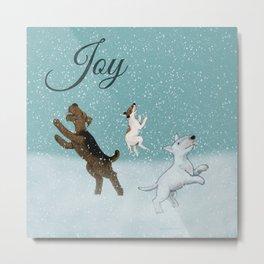 Joy Metal Print