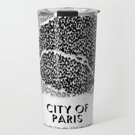 City of Paris Travel Mug
