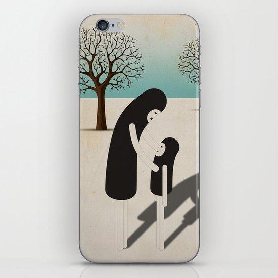 padre/figlio iPhone & iPod Skin