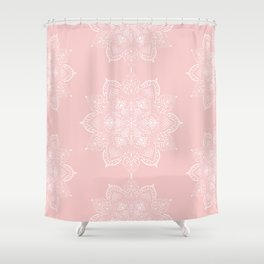 Winter Spirit - Blush Shower Curtain