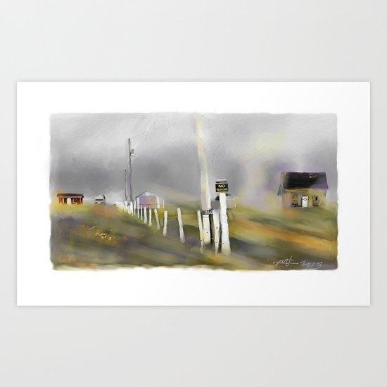 Approaching Storm / Northwest Cape / P.E.I Art Print