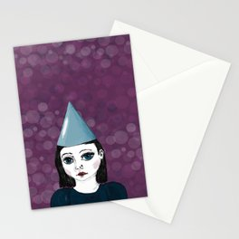 Lonely Girl has a party Stationery Cards