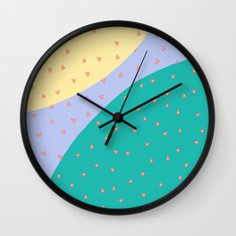 triangle floaters Wall Clock
