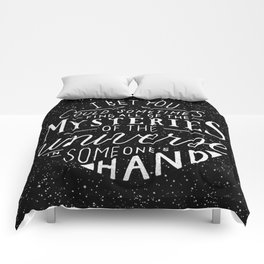 All of the Mysteries of the Universe Comforters