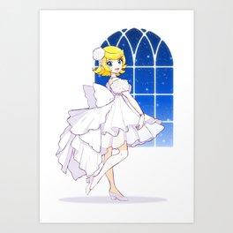 Vocaloid Rin Kagamine Art Print