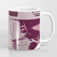 holiday Mugs featuring Holiday by Paola Rassu