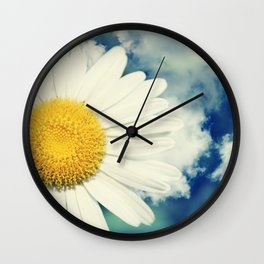 With the clouds! Wall Clock