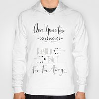 once upon a  time Hoodies featuring Once Upon a Time... by girlinplaits