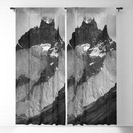 Patagonian Mountains Blackout Curtain