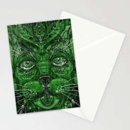 Green Manling Stationery Cards