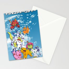 Digimon Adventure Partners Stationery Cards