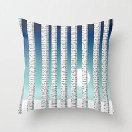 C13D Birch Throw Pillow
