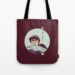Rock Lee Jutsu Tote Bag