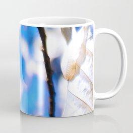 Dry White Leaf Coffee Mug