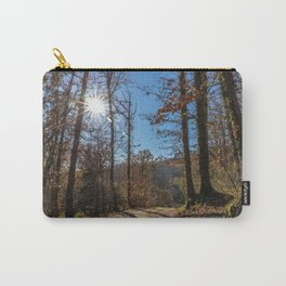 A beautiful day in the woods Carry-All Pouch