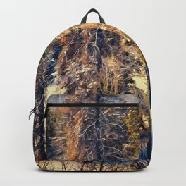 Terra Incognita by Lena Owens Backpack