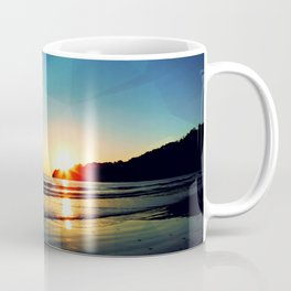 Triangle at Sunset Coffee Mug