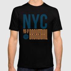 N.Y.C. Pick-Up Basketball Mens Fitted Tee MEDIUM Black