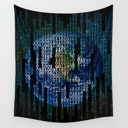 Two Signs Wall Tapestry