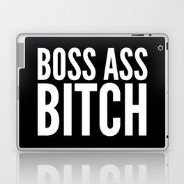 BOSS ASS BITCH (Black & White) Laptop & iPad Skin