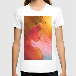 Independent Woman Sunset T-shirt