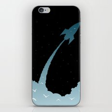 Up, Up, and Away iPhone & iPod Skin
