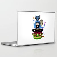 the thing Laptop & iPad Skins featuring Thing by Matej