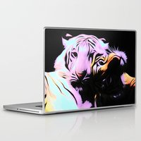 tigers Laptop & iPad Skins featuring tigers by Emmy Winstead