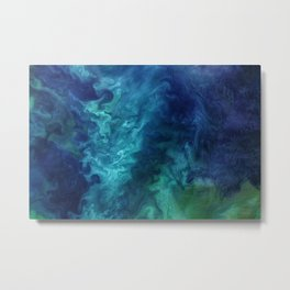 L.S.Sea // Calming NASA Ocean Metal Print