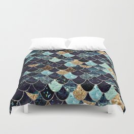 REALLY MERMAID - MYSTIC BLUE Duvet Cover