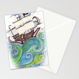 Pirate Peril Stationery Cards