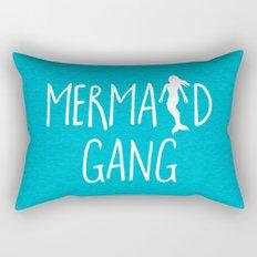 Mermaid Gang Funny Quote Rectangular Pillow