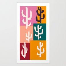 Cactisse Art Print