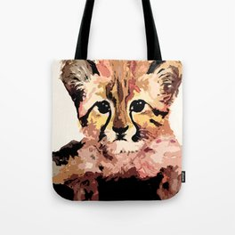 Leo the leopard Tote Bag