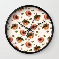 moldy peaches Wall Clock