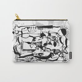 Sunrise - b&w Carry-All Pouch