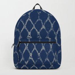 Shibori Indigo Tye Dye Backpack