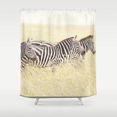 trois::kenya Shower Curtain