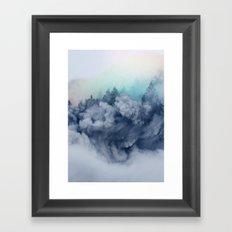 Haunt me again Framed Art Print