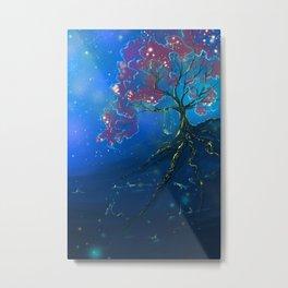 Memories Make Us Glow, fantasy painting Metal Print