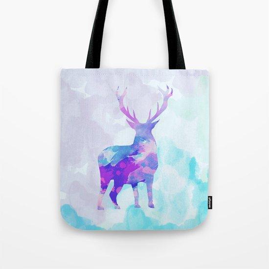 Abstract Deer II Tote Bag