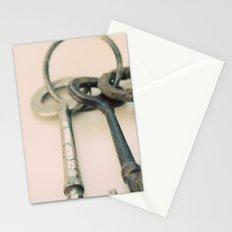 Skeleton Keys Stationery Cards