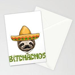 Adios Bitchachos Sloth Stationery Cards