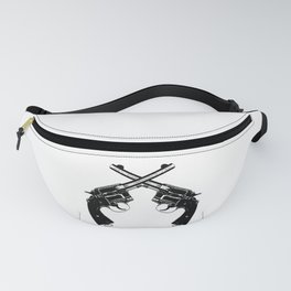 Crossed Revolvers Fanny Pack