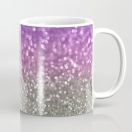 Lilac and Gray Coffee Mug