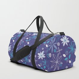 Blue Summer Duffle Bag