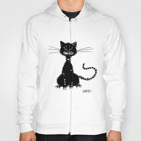 Ragged Evil Black Cat Hoody