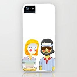 Margot & Richie iPhone Case